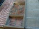 Rozprowadzenie kabli grzejnych pod podjazdem i schodami